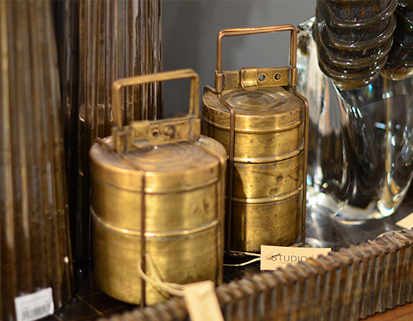 TIffin boxes- rare Studio A Home pieces; all for sale in the showroom only  https://www.studioa-home.com
