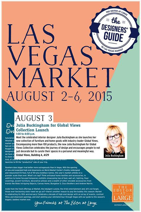 Editor At Large Vegas Mkt - Julia Buckingham Appearance, Global Views