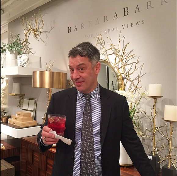 Frederick Rayner and his famous Hibiscus Martinis